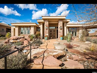 St. George Single Family Home For Sale: 2303 E Stone Crest Way