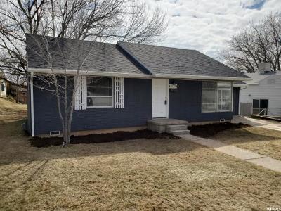 Weber County Single Family Home For Sale: 1291 E Hudson