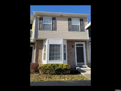 Springville Townhouse For Sale: 812 N 175 E