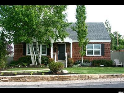 Salt Lake City Single Family Home For Sale: 2961 E Millcreek Canyon Rd S