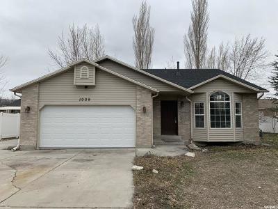Davis County Single Family Home For Sale: 1009 W 1100 S