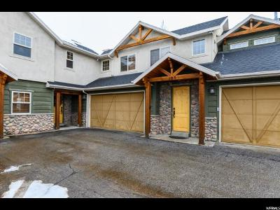 Weber County Townhouse For Sale: 3631 N Huntsman Path #C104
