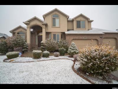 South Jordan Single Family Home For Sale: 3137 W Chalk Creek Way S