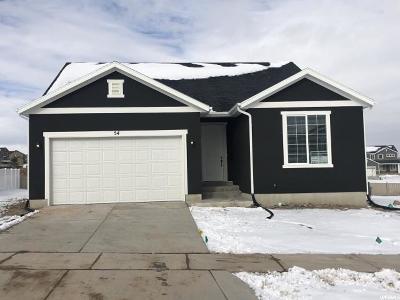Saratoga Springs Single Family Home For Sale: 54 E Baltic Rush Dr #122