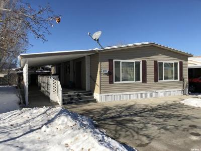 Tooele Single Family Home For Sale: 831 N 140 W