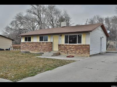 Pleasant Grove Single Family Home For Sale: 160 W 300 N