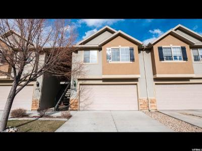 Spanish Fork Townhouse For Sale: 3087 E Canyon Glen Loop