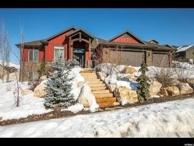 Mountain Green Single Family Home Under Contract: 3440 W Greenfield Cir