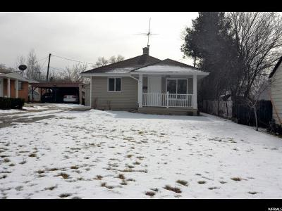 Weber County Single Family Home For Sale: 871 E 32nd St S