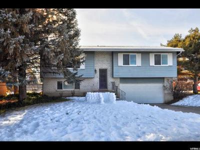 West Jordan Single Family Home For Sale: 3437 W Erica Cir S