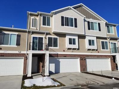 Herriman Townhouse For Sale: 5376 W Royal Arches Pl S