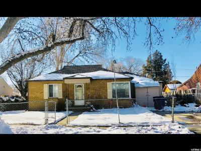 Salt Lake City Single Family Home For Sale: 1028 S 1300 W