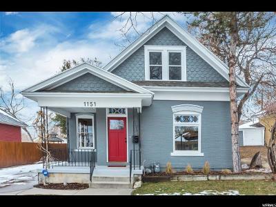 Salt Lake City Single Family Home For Sale: 1151 E Roosevelt Ave S