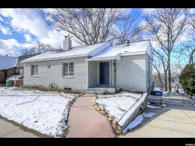 Salt Lake City Single Family Home For Sale: 1388 S 1300 E