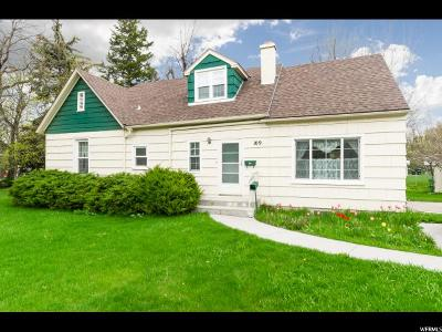 Logan Single Family Home For Sale: 109 N 875 E