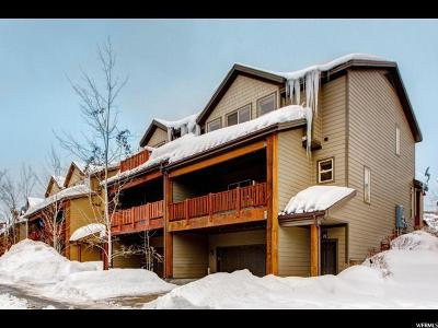Park City Townhouse For Sale: 5640 N Oslo Ln