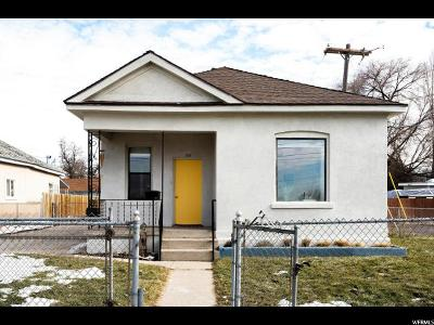 Salt Lake City Single Family Home For Sale: 1131 S 200 W