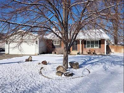 Riverton Single Family Home For Sale: 12168 S 2160 W