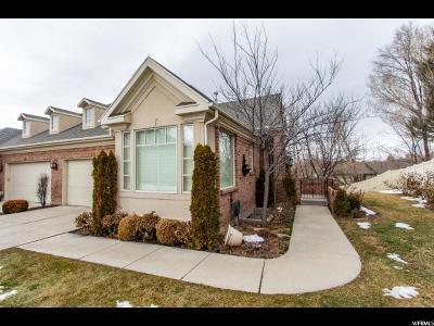 Salt Lake City Condo For Sale: 4743 S Ruth Meadows Cv