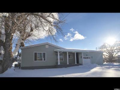 Tooele County Single Family Home For Sale: 257 W 400 N