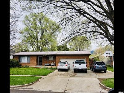 Logan Single Family Home For Sale: 720 N 400 E