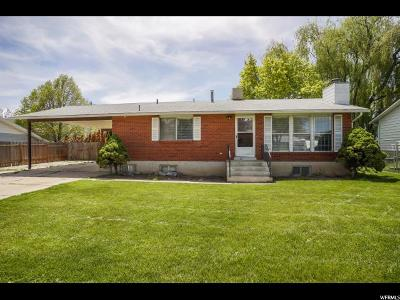 Weber County Single Family Home For Sale: 323 E 1000 N