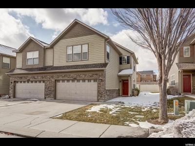 Riverton Townhouse For Sale: 13492 S Leaf Wing Ln