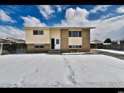 West Jordan Single Family Home For Sale: 7537 S 2800 W