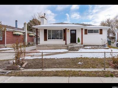Salt Lake City Single Family Home For Sale: 1207 W Gillespie Ave S