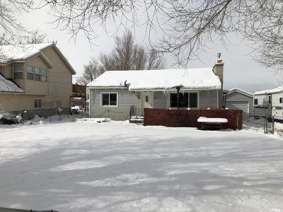 Tooele Single Family Home For Sale: 840 S Coleman W
