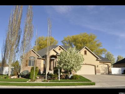 Kaysville Single Family Home For Sale: 956 W Chester Ln. S