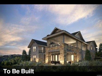 Park City Single Family Home For Sale: 9816 N Hidden Hill Loop #22