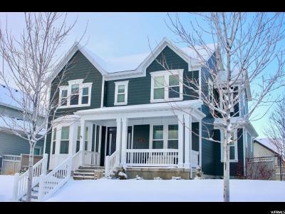 South Jordan Single Family Home For Sale: 4419 S Jordan Pkwy W