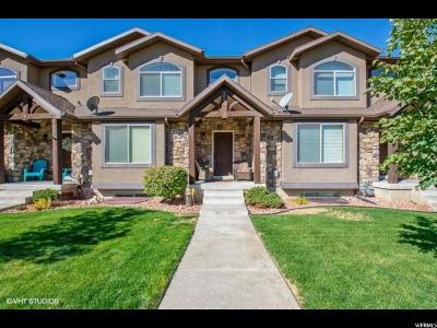 Weber County Townhouse For Sale: 2025 S Tyler View Way E #3