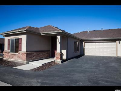 West Valley City Condo For Sale: 5512 W Relative Pl S #15