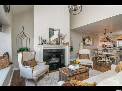 Salt Lake City Townhouse For Sale: 3432 S Brook View Ln E
