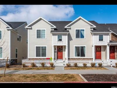 Bluffdale Townhouse For Sale: 1045 W Painted Horse Ln S