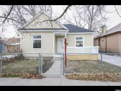 Salt Lake City Single Family Home For Sale: 266 N 900 W