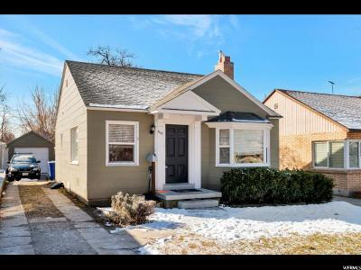 Salt Lake City Single Family Home For Sale: 1152 E Roosevelt Ave