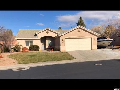 St. George Single Family Home For Sale: 1630 E 2450 S #283
