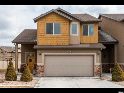 Orem Townhouse For Sale: 837 S Pheasant Run