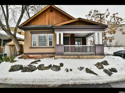 Salt Lake City Single Family Home For Sale: 337 S Laker Ct E