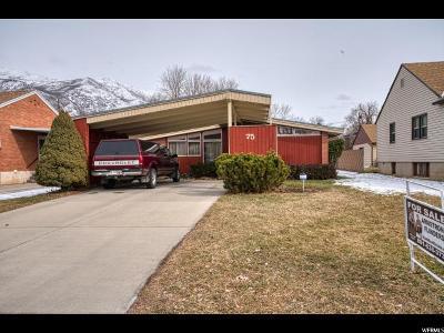 Springville Single Family Home For Sale: 75 S 100 E