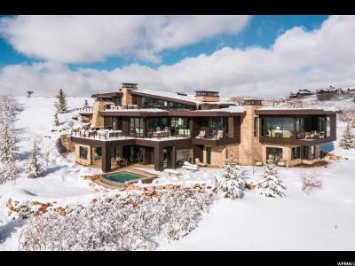 Park City Single Family Home For Sale: 8785 N Lookout Ln