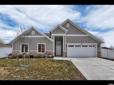 Salt Lake City Single Family Home For Sale: 410 N Silent Glen Ln W