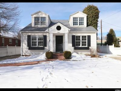 Salt Lake City Single Family Home For Sale: 2624 S 1500 E