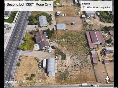 Herriman Residential Lots & Land For Sale: 13751 S Rose Canyon Rd W