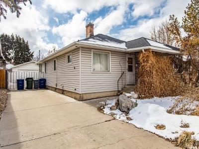 Salt Lake City Single Family Home For Sale: 258 E Coatsville Ave S