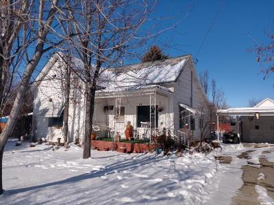 Lewiston Single Family Home For Sale: 186 W 100 S
