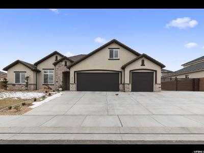St. George Single Family Home For Sale: 3174 E Sugar Maple Dr